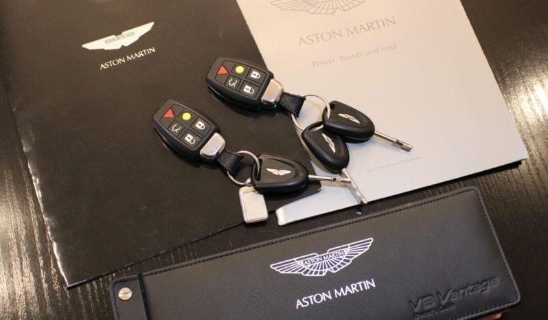 2007 Aston Martin V8 Vantage Coupe vol