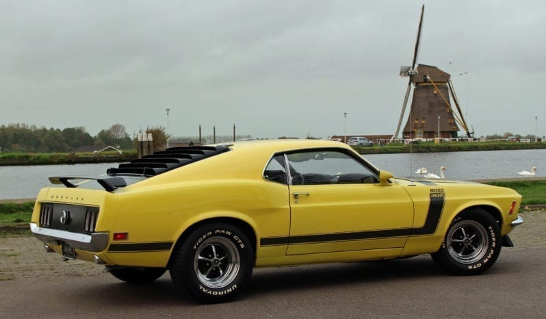 1970 Ford Mustang Boss 302 Sportsroof vol
