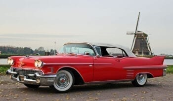 1958 Cadillac Serie 62 Convertible vol