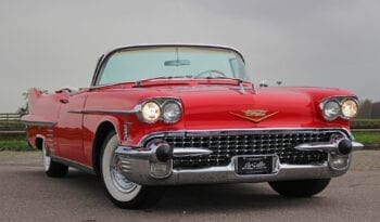 1958 Cadillac Serie 62 Convertible