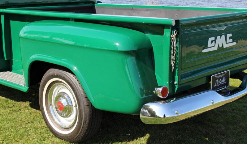 1956 GMC 100 1/2 ton Stepside Pick-up Truck vol