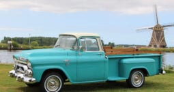 1958 GMC 100 1/2 ton Stepside Pick-up Truck