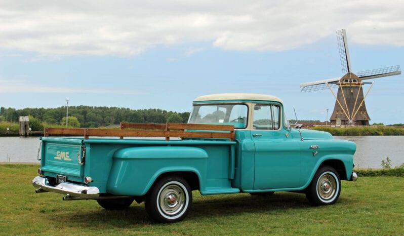 1958 GMC 100 1/2 ton Stepside Pick-up Truck vol