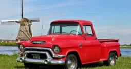 1956 GMC 100 1/2 ton Stepside Pick-up Truck